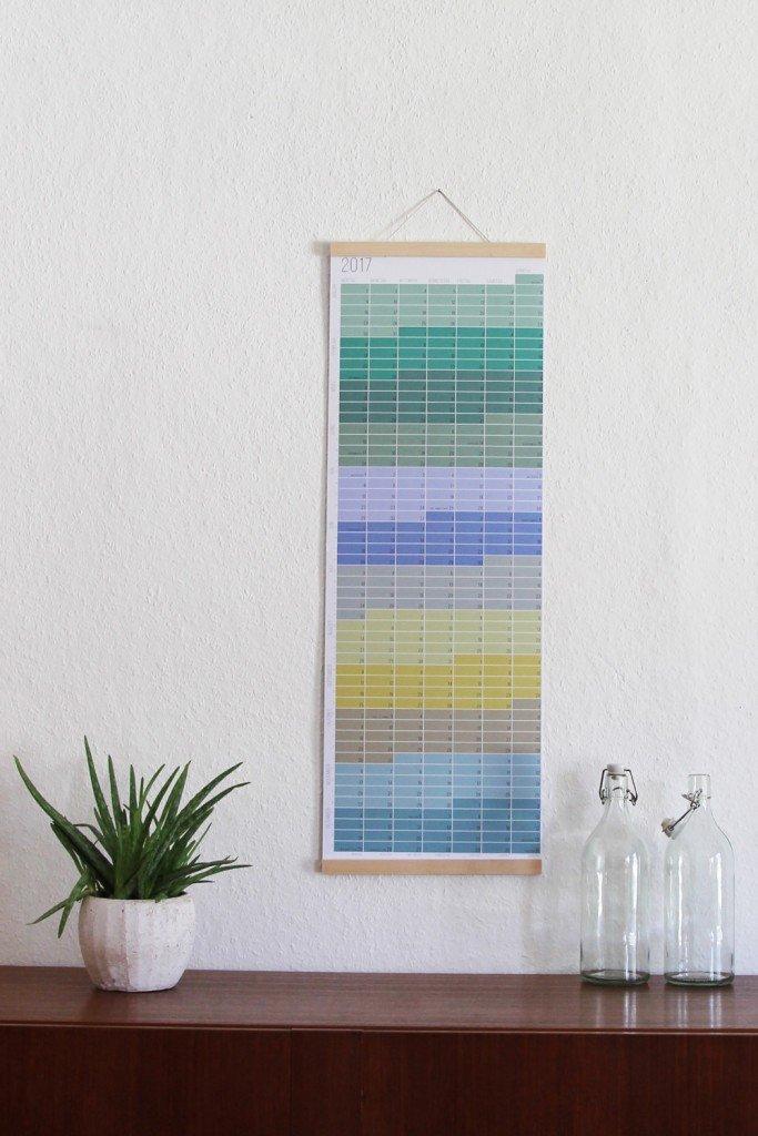 """Der """"Wie lange noch?"""" - Kalender in Pastell"""