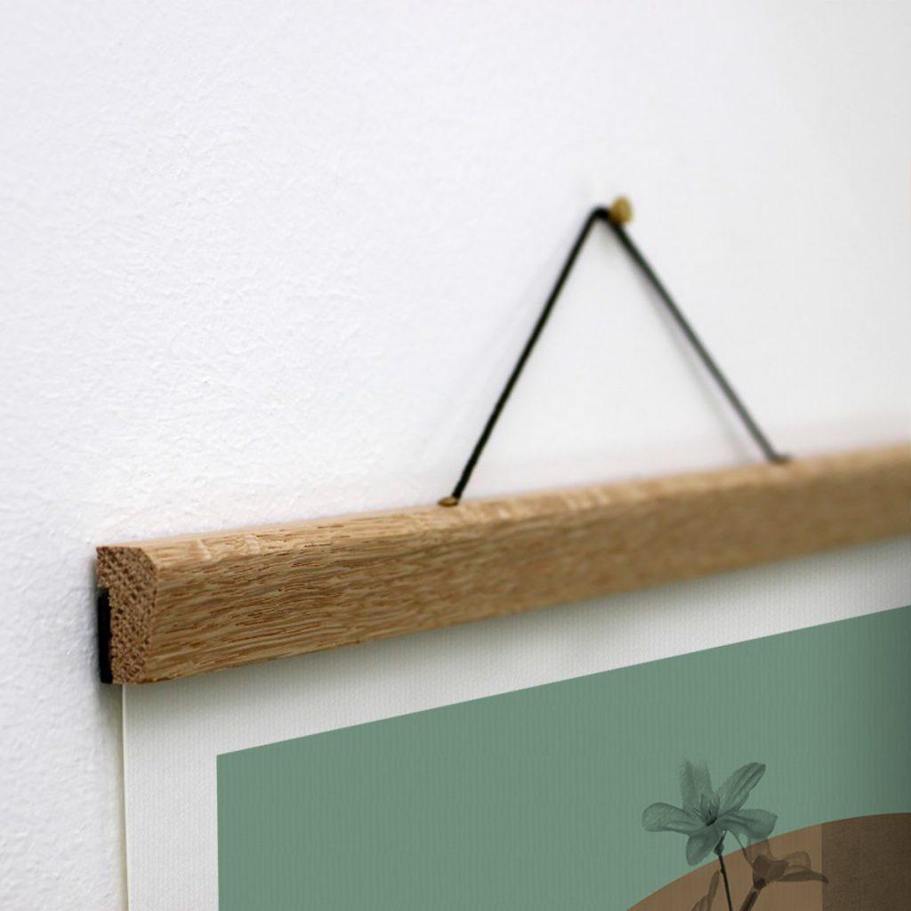 Bilderleiste aus Eichenholz