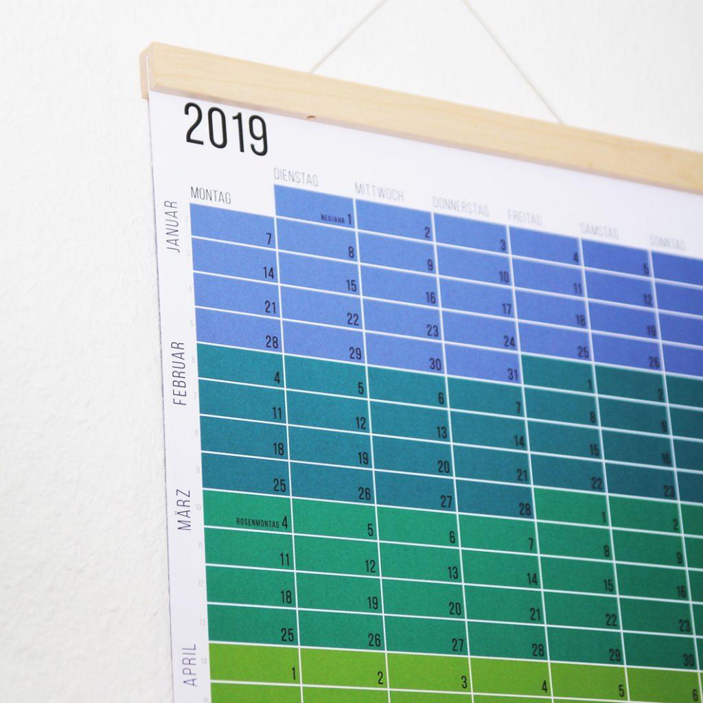 Wandkalender Designkalender Familienplaner 2019 Wi-La-No