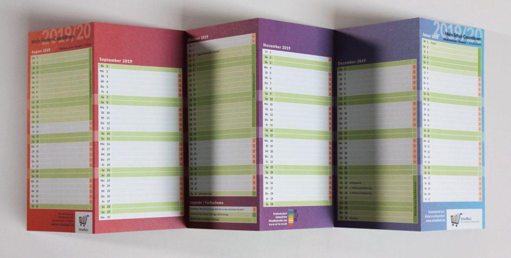 Schuljahresplaner Schülerkalender 2019 2020
