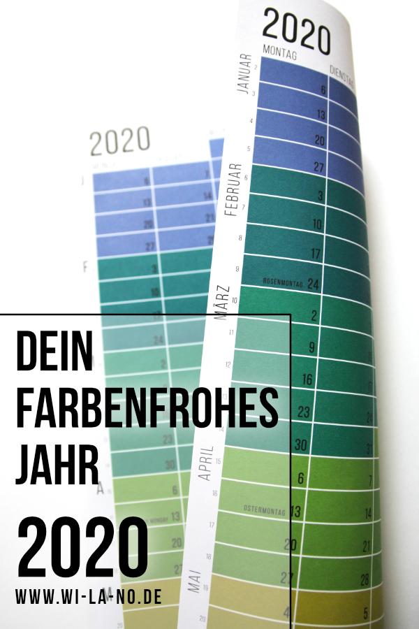 wandkalender 2020 wallplanner Jahresplaner Designkalender calendar