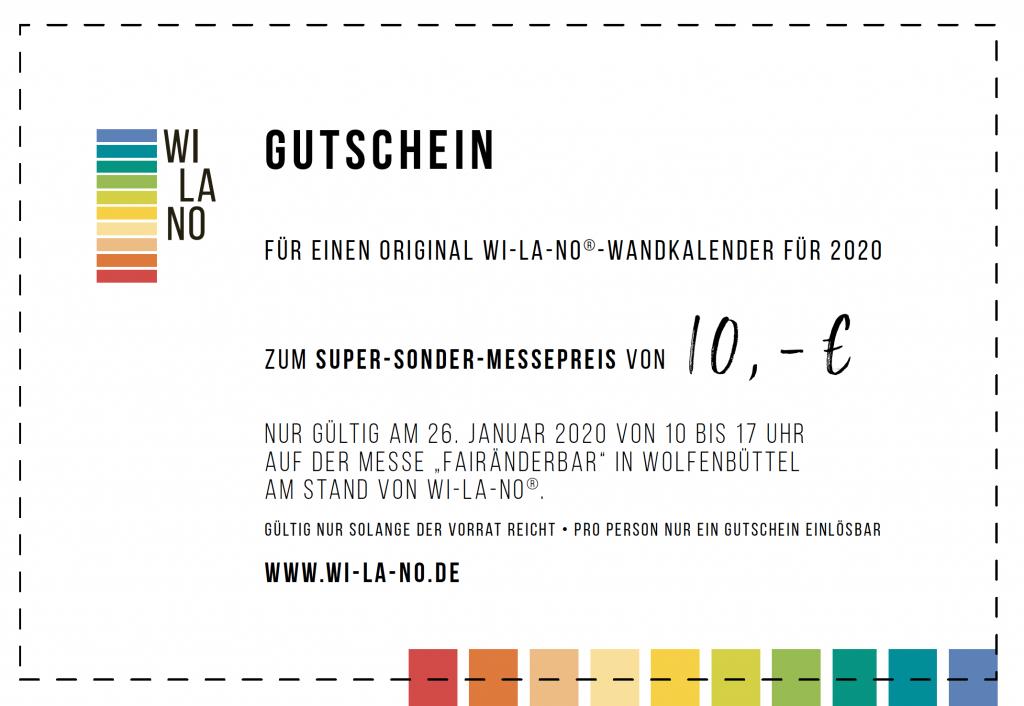 Gutschein Messe Wolfenbüttel Wi-La-No