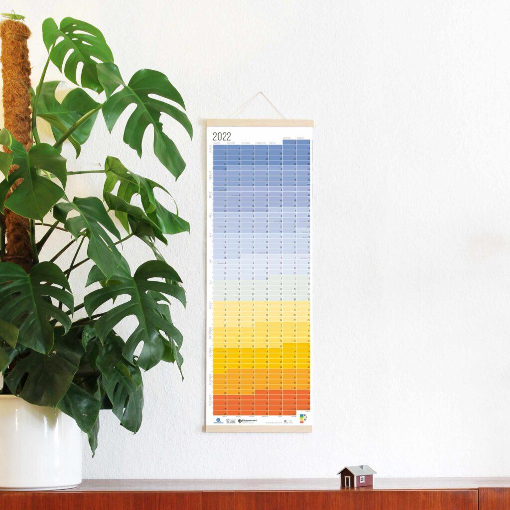 2022 Wandkalender Jahresplaner Wi-La-No Calendar Designkalender Blue Hour Blaue Stunde